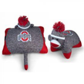 Ohio State Sock Monkey Pillow