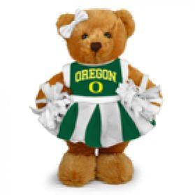 Oregon Cheerleader Bear 8in