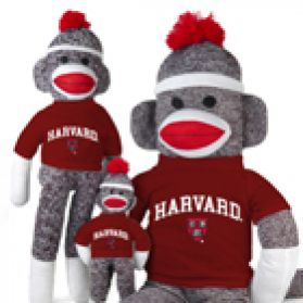 Harvard Sock Monkey