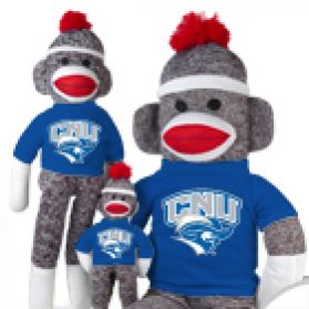 Christopher Newport Sock Monkey