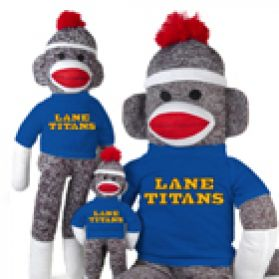 Lane College Sock Monkey