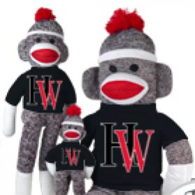 Harvard Westlake Sock Monkey