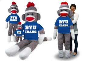 BYU Idaho Sock Monkey