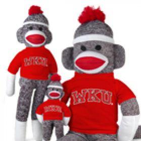Western Kentucky Sock Monkey