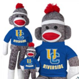 UC Riverside Sock Monkey