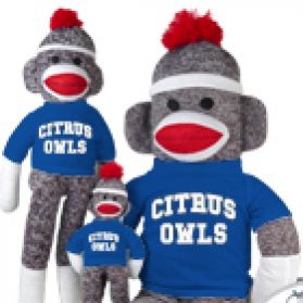 Citrus College Sock Monkey