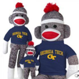 Georgia Tech Sock Monkey