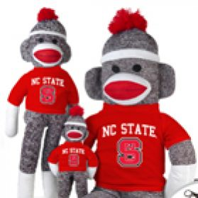 North Carolina State Sock Monkey