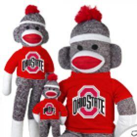 Ohio State Sock Monkey