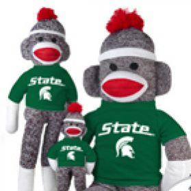 Michigan State Sock Monkey