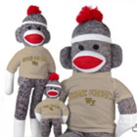 Wake Forest Sock Monkey
