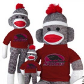 So. Illinois Sock Monkey