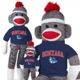 Gonzaga Sock Monkey