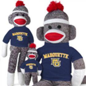 Marquette Sock Monkey