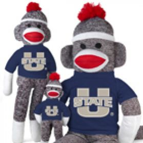 Utah State Sock Monkey