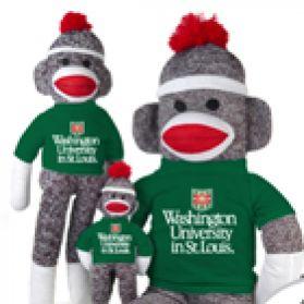 Washington St Louis Sock Monkey