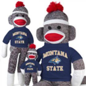 Montana State Sock Monkey