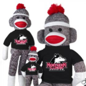 Northern Illinois Sock Monkey