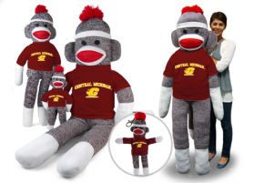 Central Michigan Sock Monkey