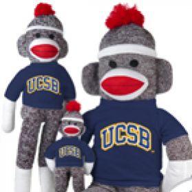 UC Santa Barbara Sock Monkey
