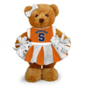 Syracuse Cheerleader Bear 8in
