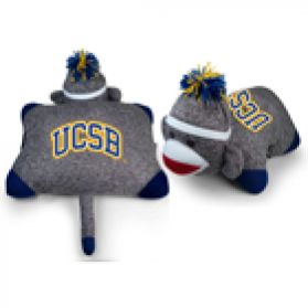 UC Santa Barbara Pillow Sock Monkey