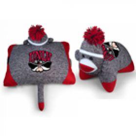 UNLV Sock Monkey Pillow 24in
