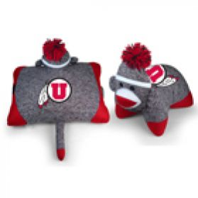 Utah Sock Monkey Pillow