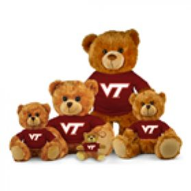 Virginia Tech Jersey Bear
