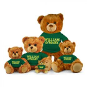 William & Mary Jersey Bear